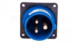 Wtyczka tablicowa 16A 3P 230V niebieska IP44 613-6f6