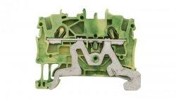 Złączka szynowa ochronna 2,5mm2 żółto-zielona 2002-1207 TOPJOBS
