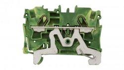 Złączka szynowa ochronna 4mm2 żółto-zielona 2004-1207 TOPJOBS