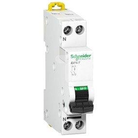 Wyłącznik nadprądowy 1P+N C 10A 6kA AC iDPN A9N21644