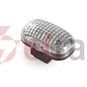 Lampka rowerowa przednia /światło ostrzegawcze/ 3xLED 2xAAA 3 tryby świecenia max.200h białe L-FN-01G-ROHS