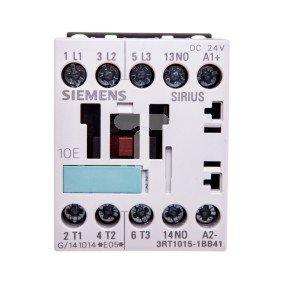 Stycznik mocy 7A 3P 24VDC 1Z 0R S00 3RT1015-1BB41