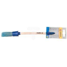 Pędzel owalny akrylowy 4 uchwyt drewniany do farb akrylowych 20B911