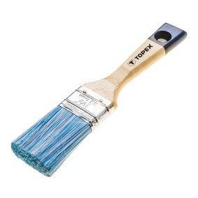 Pędzel płaski akrylowy 2cala uchwyt drewniany włosie mieszane do farb akrylowych 20B948