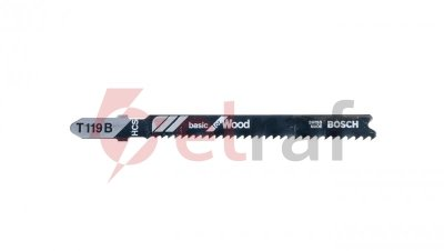 Brzeszczot T119B 5PC NS 2608630037 /5szt./