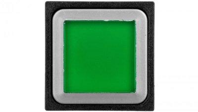 Napęd przycisku podświetlanego kwadratowy płaski zielony Q25LTR-GN 086812