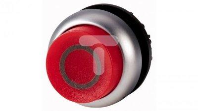 Napęd przycisku czerwony /O/ z podświetleniem bez samopowrotu wystający M22-DRLH-R-X0 216804