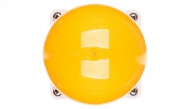 Napęd przycisku grzybkowego dłoniowego czarny IP67 żółto-biały FAK-Y 229754