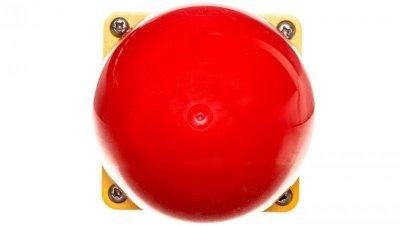 Napęd przycisku grzybkowego dłoniowego czarny IP67 żółto-czerwony FAK-R/V/Y 229755