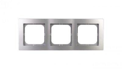 AS Ramka potrójna srebro R-3G/18