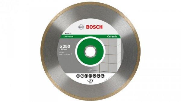 Tarcza tnąca diamentowa Professional for CERAMIC fi  250/25,4mm 2608602539