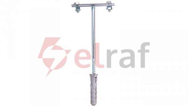 Uchwyt do bednarki z kołkiem L-160mm fi 12mm bez przetłoczenia 12.8/B OC /91230801/