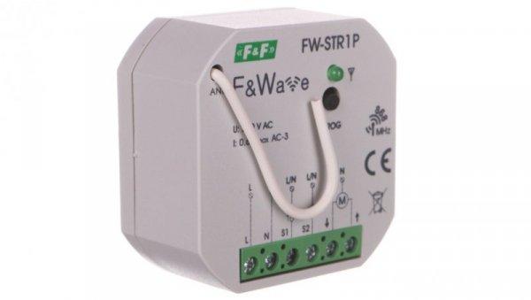 Radiowy sterownik rolet 230V- montaż p/t 85-265V AC/DC FW-STR1P