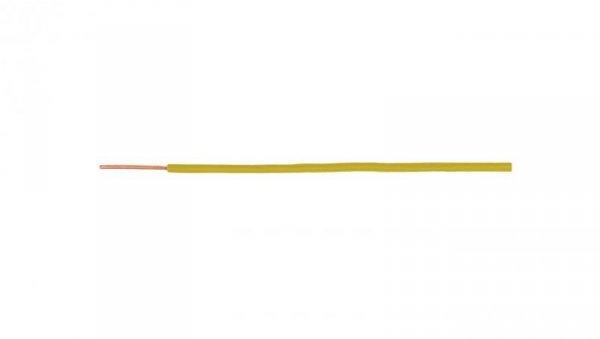 Przewód instalacyjny H07V-U (DY) 2,5 żółty /100m/