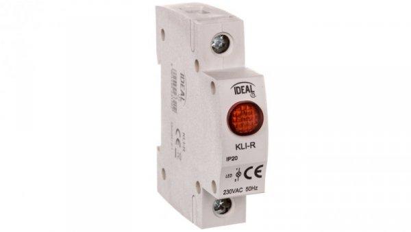 lampka modułowa LED KLI-R czerwona 23320