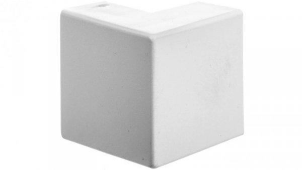 Narożnik do kanałów kablowych zewnętrzny AE 22x10 biały /2szt/ ECAE2210B