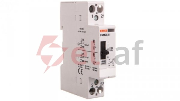 Stycznik modułowy z dźwignią 20A 1Z 1R 230-220V AC/DC CNM2011220