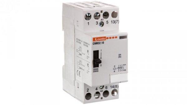 Stycznik modułowy z dźwignią 32A 4Z 0R 230-220V AC/DC CNM3210220