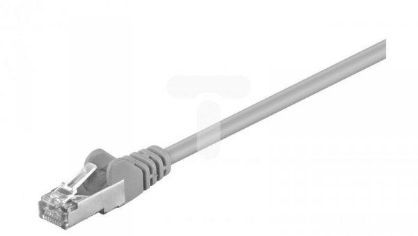 Kabel krosowy patchcord F/UTP kat.5e CCA szary 5m 50130