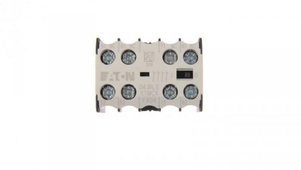 Styk pomocniczy 4R montaż czołowy 04DILE 010256