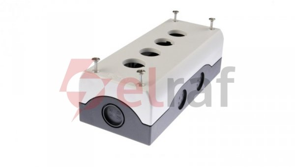 Obudowa kasety 4-otworowa 22mm szara IP67 M22-I4 216539