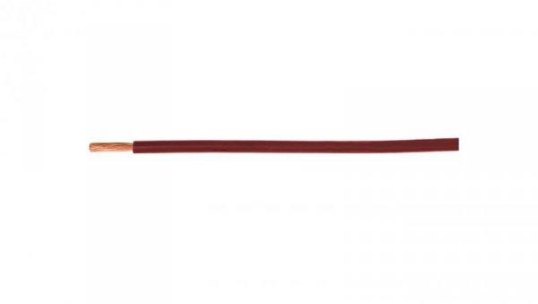 Przewód instalacyjny H07V-K (LgY) 4 czerwony /100m/
