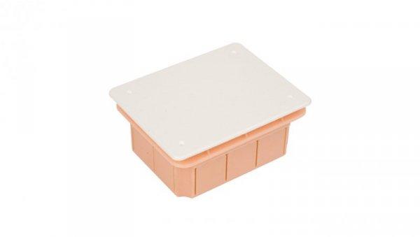 Puszka podtynkowa 96x126x62mm pomarańczowa Pp/t 4 11.4