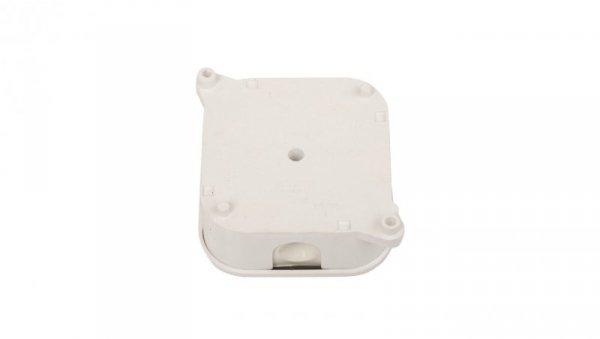 Puszka n/t hermetyczna z wkładem 85x85x40mm IP44 biała PO75 83012006