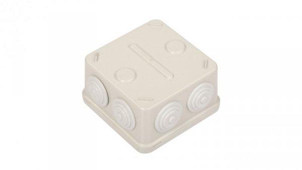 Puszka natynkowa LIGHT 88x88x52 7xM25 IP54 EP-088