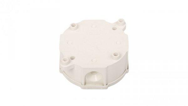 Puszka n/t hermetyczna 85x85x40mm IP44 z wkładem biała PH 83014006