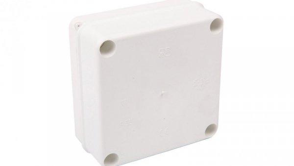 Puszka n/t hermetyczna pusta 135x135x62mm IP55 biała PK-1 0250-00