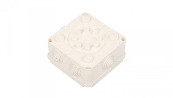 Puszka hermetyczna pusta 118x118x60mm IP55 biała PK-2 118x118x60 0222-00