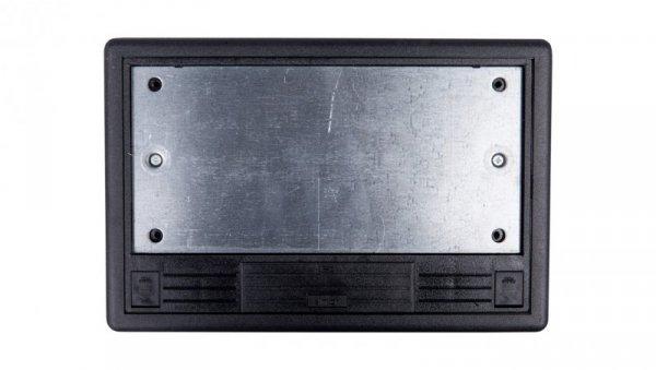 Simon Connect Puszka SF podłogowa poczwórna 8xK45 szary grafit SF470/14