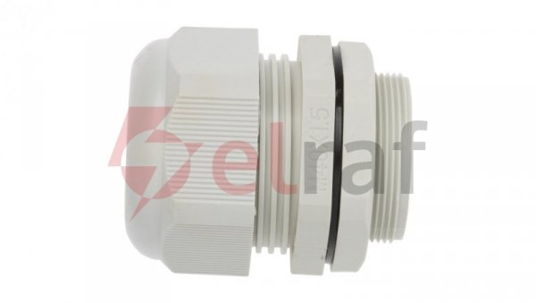 Dławnica kablowa poliamidowa M40 IP68 DP-EN 40 HM szara E03DK-01040100601 /10szt./