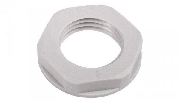 Nakrętka poliamidowa PG9 jasnoszara N 9/H E03DK-02010100201 /100szt./