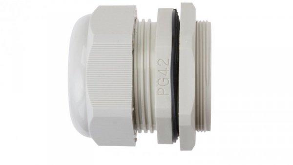 Dławnica kablowa poliamidowa PG42 IP68 DP 42/H szara E03DK-01030100901