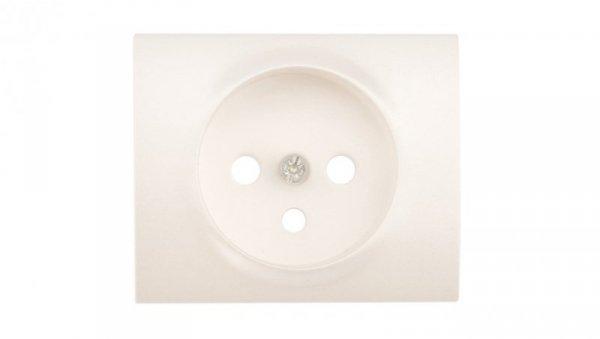 SISTENA LIFE Plakietka gniazda pojedynczego pearl 771527