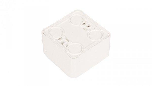Prima Gniazdo pojedyncze z/u 16A IP20 białe GWN-130P WDE001030