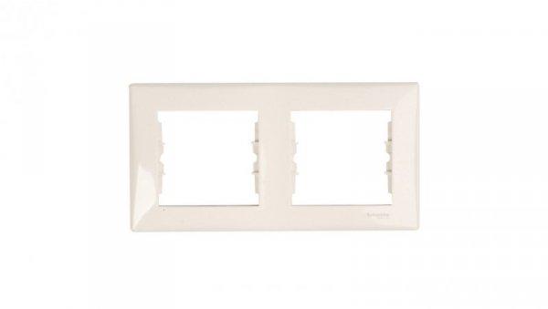 Sedna Ramka podwójna pozioma kremowa SDN5800323