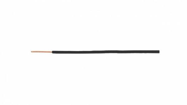Przewód instalacyjny H05V-U (DY) 1,5 czarny /100m/