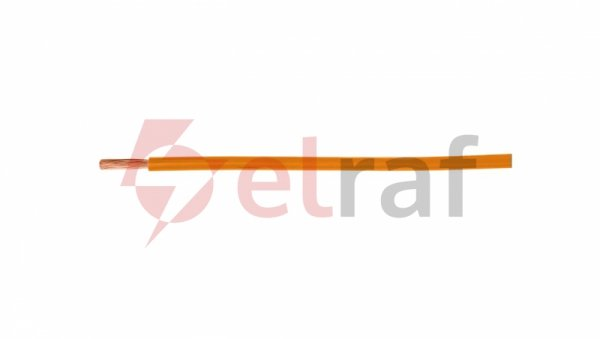 Przewód instalacyjny H07V-K (LgY) 1,5 pomarańczowy /100m/