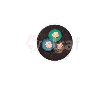 Przewód przemysłowy H07RN-F (OnPD) 3x1,5 żo /100m/
