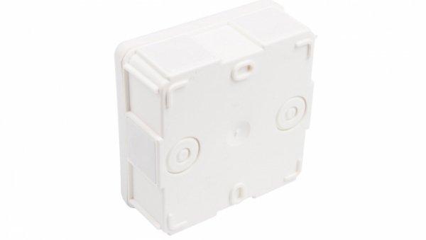 Puszka n/t hermetyczna pusta 87x87x39mm IP55 biała EP-Lux 0226-00