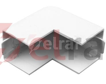 Naroże zewnętrzne kanału WDK 25x25 HA25025RW białe 6192173 /4szt./