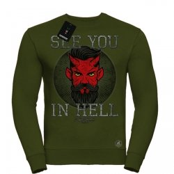 BLUZA SEE YOU IN HELL