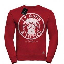 BLUZA GUNS AND TITTIES