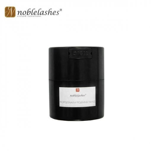 Professional container for adhesive from Noble Lashes