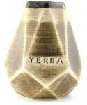 Matero Miodowe Ceramiczne Diament - do yerba mate