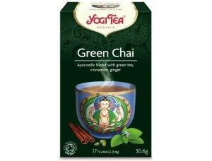 Herbata Green Chai Bio 17x1,8g Yogi Tea