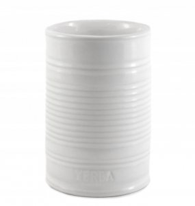 Matero Ceramiczne puszka BIAŁA 300 ml yerba mate